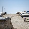 シリア北東部にあるアルホル避難民キャンプ(2020年8月25日撮影、資料写真)。(c)Delil SOULEIMAN / AFP