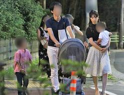 交際が発覚した2018年夏。すでに小倉も子供もA氏を「パパ」と呼んでいた