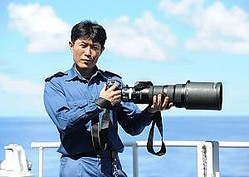 海上自衛隊時代の生方正さん