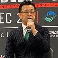 榊原信行CEO、ランペイジをKOしたヒョードル