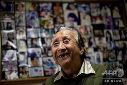 中国・北京の自宅兼事務所で取材に応じるシュウ・ファンさん(2019年12月17日撮影)。(c)NOEL CELIS / AFP