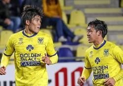 冨安はここまでリーグ戦、カップ戦含めフル出場。遠藤はスタメン出場とベンチスタートを繰り返している。 (C) STVV
