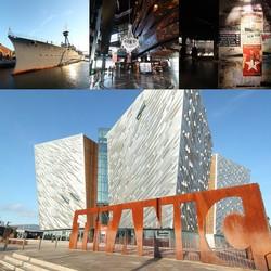 """【北アイルランド】ベルファストで知る""""世界一有名な船・タイタニック""""の歴史とリアル"""