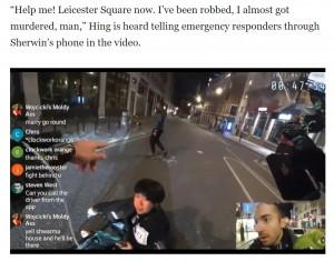 【海外発!Breaking News】ライブ配信中にナイフを持った強盗を追い払ったユーチューバー、勇気ある行動に称賛続出(英)<動画あり>