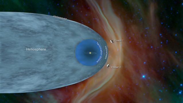 NASAの探査機ボイジャー2号、太陽圏を脱出し星間空間到達。打上げから41年