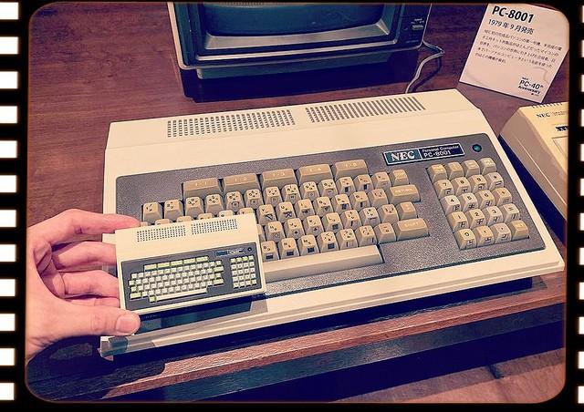 1979年9月28日、初期の国産8bitパソコン「PC-8001」が発売されました:今日は何の日?