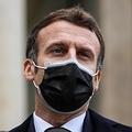 エマニュエル・マクロン仏大統領(2020年12月16日撮影)。(c)THOMAS COEX / AFP