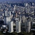 東京・湾岸エリアのタワマン群(時事通信フォト)
