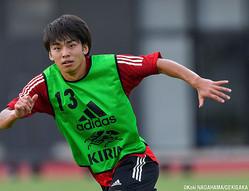 FW斉藤光毅(横浜FC)は7月の合宿に続いて招集されている