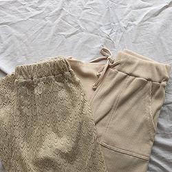 しまむらのパンツはトレンドのベージュコーデにぴったり! #しまパト で見つけた2つのおすすめアイテム♡