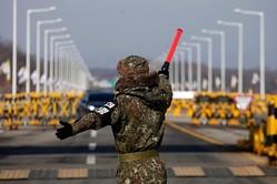 多くのセキリュティスタッフがノロウィルスに感染したことにより、急遽軍人が投入された平昌五輪【写真:Getty Images】