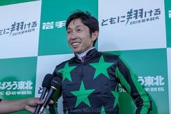 武豊騎手 (C)Yushi Machida