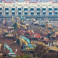 武漢市を「封城」、急ピッチで病院建設 新型肺炎VS中国政府の死闘