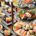 スタイリッシュな楽しみ方「第一ホテル東京」の寿司ランチプラン