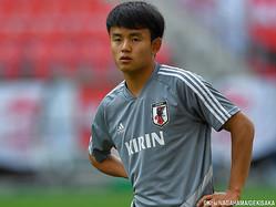 18歳を迎えた日本代表MF久保建英(FC東京)