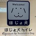 ほじょ犬トイレ(2019年7月17日、Jタウンネット撮影)