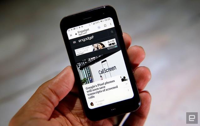 超小型スマホ「Palm Phone」日本上陸 3.3型液晶で手のひら大