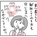 献血の協力呼び掛け「なぜO型ばかり?」(提供・日本赤十字社関東甲信越ブロック血液センター)