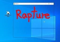 ドラッグした範囲を一瞬でメモ&ウィンドウ化できる便利なツール「Rapture」