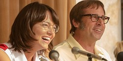 ビリー・ジーン・キング役のエマ・ストーンとボビー・リッグス役のスティーヴ・カレル  - Courtesy of TIFF