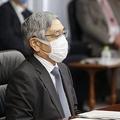 日銀の黒田東彦総裁、景気は「持ち直している」 コロナの影響注視