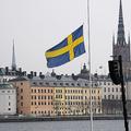 スウェーデン警察はルール違反の中国人三人をホステルから追い出した(ANDERS WIKLUND/AFP/Getty Images)