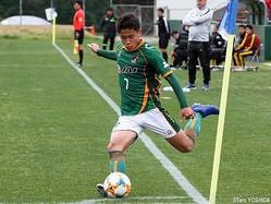 U-16日本代表に選出されたDF松木玖生(青森山田高)