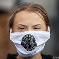 スウェーデンの環境活動家グレタ・トゥンベリさん(2020年9月25日撮影、資料写真)。(c)JONATHAN NACKSTRAND / AFP
