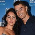 クリスティアーノ・ロナウド(右)とそのパートナーのジョルジーナ・ロドリゲスさん【写真:Getty Images】