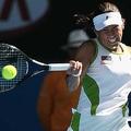 日本人初のダブルス世界ランク1位など、日本を代表する女性アスリートとして34歳まで活躍した杉山愛【写真:Getty Images】