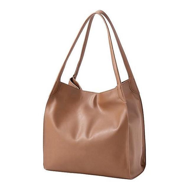 収納力、機能性、デザイン性に文句なし。 「本当に欲しい」を叶えた大注目のGUバッグ