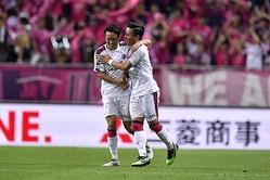 浦和戦は2−1で勝利。リーグ4連勝を飾る。(C)SOCCER DIGEST