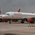 エア・インディア機。インド・ニューデリーの空港で(2018年9月10日撮影、資料写真)。(c)Sajjad HUSSAIN / AFP