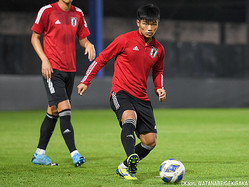 U-23日本代表MF旗手怜央(順大→川崎F)