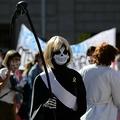 スペイン・バルセロナで行われた、医療従事者らにより良い労働条件を求める抗議活動(2020年10月13日撮影、資料写真)。(c)LLUIS GENE / AFP