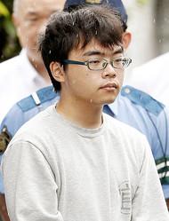 日本中を戦慄させた新幹線殺傷事件の容疑者、小島一朗(写真/共同通信社)