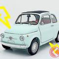 旧車フィアット500を電気自動車に「FIAT 500 ev」の販売スタート