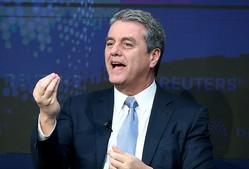 WTO事務局長が辞意、「新リーダーの下でコロナ後に対応を」