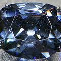 貴重なブルーダイヤモンド「海の色を帯びている」と米の研究結果