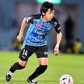 40歳の誕生日に決勝ゴールを決めた中村。(C) SOCCER DIGEST