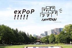 『exPoP!!!!! vol.100』『NEWTOWN』ビジュアル