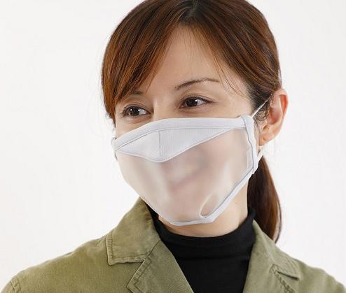 見える マスク が 口元 口元透明なマスク、台湾で開発 聴覚障害向け3万個配布