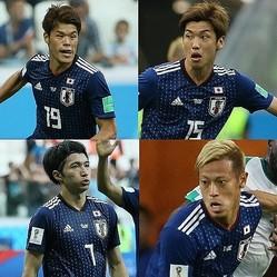 2大会ぶりにグループリーグを突破した日本代表。決勝トーナメント1回戦の相手はベルギーに決まった。写真:JMPA代表撮影(滝川敏之)