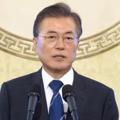 韓国の文在寅大統領(韓国大統領府提供)