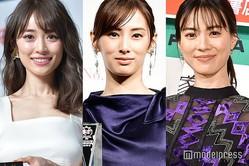 (左から)泉里香、北川景子、安座間美優(C)モデルプレス