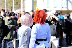 イベントでコスプレを楽しむ人々【写真:西村尚己/アフロ】