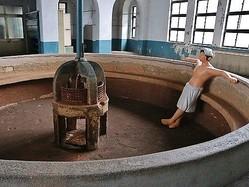 「台北機廠」内の職員浴場=文化部提供