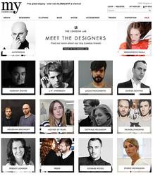 My-Wardrobe (マイ・ワードローブ) が、ロンドンの気鋭デザイナーブランドを扱う「THE LONDON LAB」を立ち上げ、トップ・ファッションブロガーともコラボ