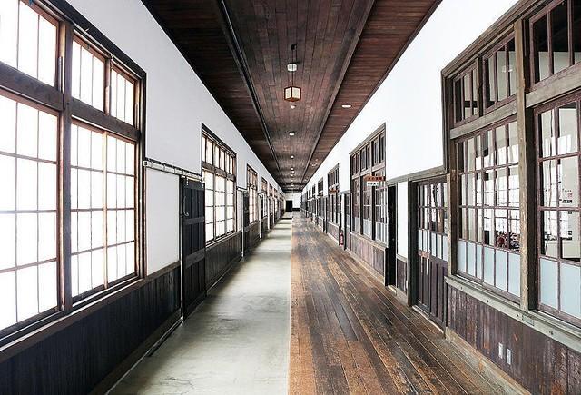日本一なが〜い廊下を「雑巾がけ」できる博物館が、愛媛にあった