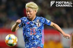 日本代表のFW浅野拓磨【写真:田中伸弥】
